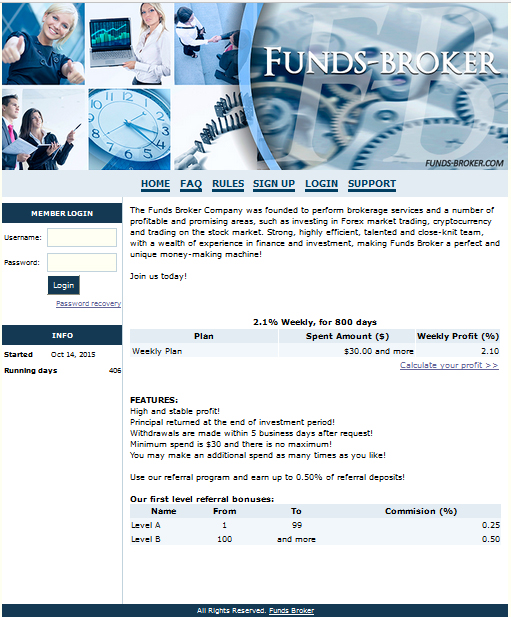 Funds Broker